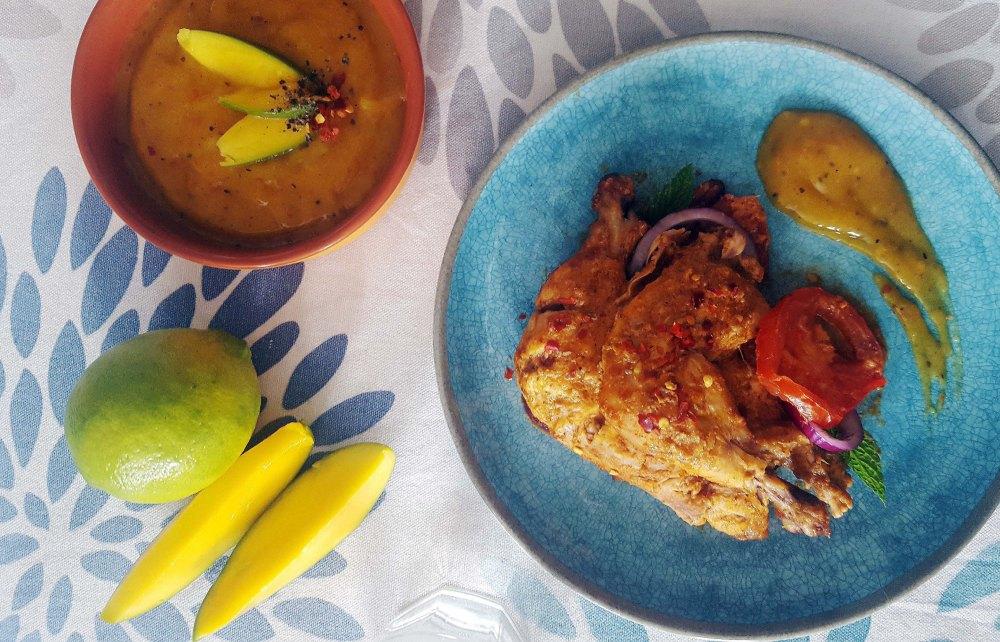 Chicken Mango V8